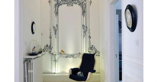 Decoration couloir stickers id es entr e couloir pinterest couloir d c - Stickers couloir maison ...