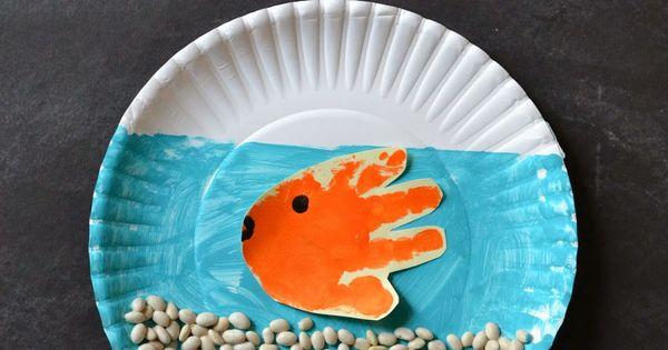 Fishbowl Kid Craft Craftandcleanup Fishbowl