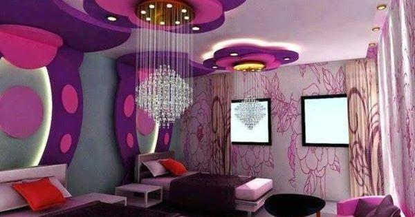 Habitaci n adolescentes mujer color lila y violeta for Cuartos de nina violeta