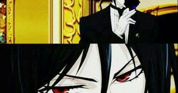 black butler sebastian mchaelis ahh look at those bedroom eyes