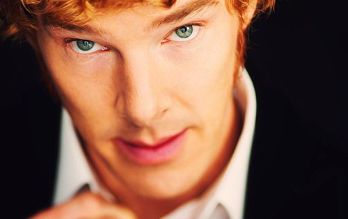 most people dont know that benedict cumberbatch is real natural hair color