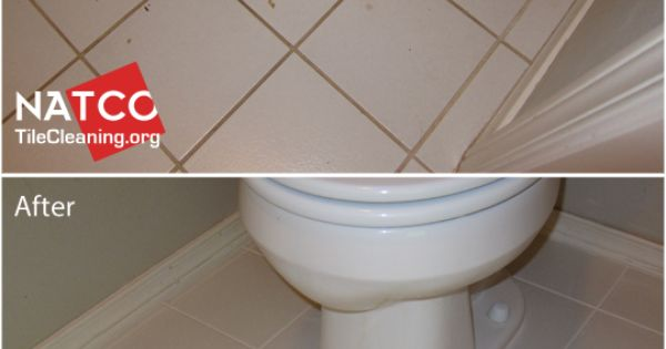 Cleaning And Colorsealing Urine Stained Grout And Caulk