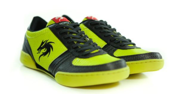 MONTA ATF Blocked Senior Yellow Black. Now only for €55.95 #shoes ...