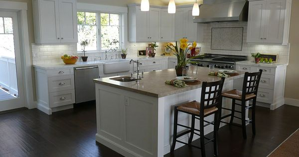 kitchen ideas white cabinets | White Kitchen Cabinets Design : Flat Ideas