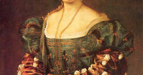 Italian Renaissance Painting Little Girl Blue Dress