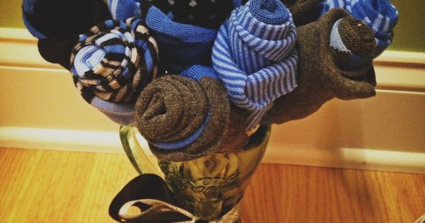 Men S Sock Bouquet Perfect For A Birthday Gift Sweetest