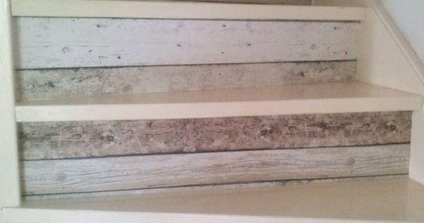Goedkoop Badkamer Idees : Leuk idee: Stootborden met steigerhout ...