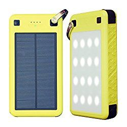 Best Solar Power Bank 2018 Buyers Guide Solar Battery Charger Solar Charger Solar Battery