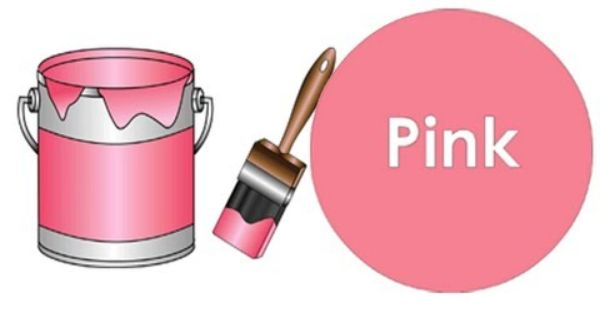 The Paint Is Pink Great Color Song Not Just Pink Color Songs Teaching Colors Preschool Colors