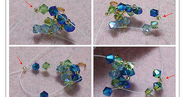 DIY Beads Bracelet DIY Beads Bracelet Tutorial bracelete Tutorial pulseira passo a