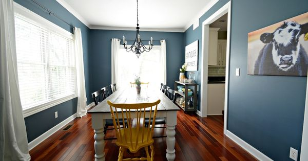 Dining Room Sw Smoky Blue But Looks Like Tempe Star