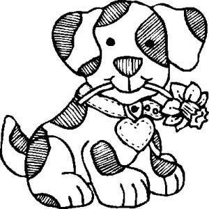 Resultado De Imagem Para Desenhos De Cachorros Para Imprimir