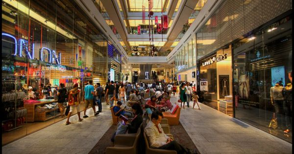 Orchard Road Shopping Mall Shopping Mall Singapore City Singapore