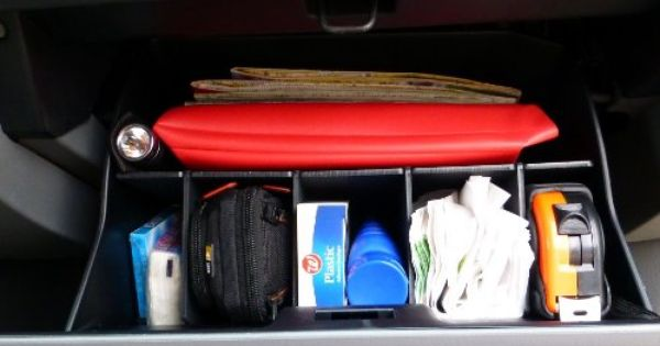- Made in USA Glove Box Organizer for Toyota Tacoma 2005-2015 Vehicle OCD