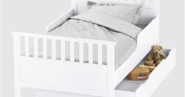 Lit volutif enfant r cr ation blanc vertbaudet enfant mobilier enfant pinterest lit - Mobilier vertbaudet ...