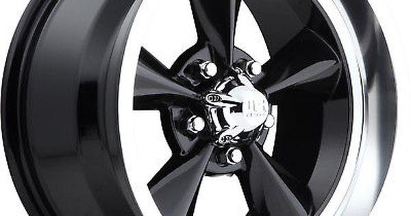 17x7 Black Us Mags Standard U107 Wheels 5x4 75 1 Fits Pontiac Gto Firebird Black Wheels Wheel Rims Wheels And Tires