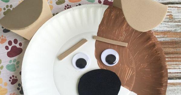 Secret Life Of Pets Max Kids Craft Secret Life Paper