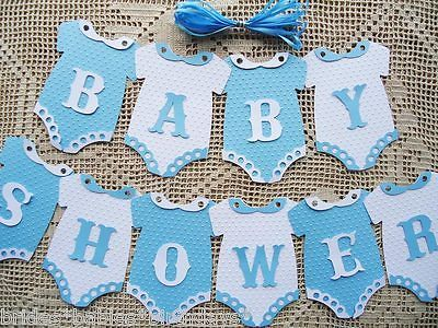Adornos Para Baby Shower De Varon.Details About 10 Bunting Flags Banners Garland Baby Shower