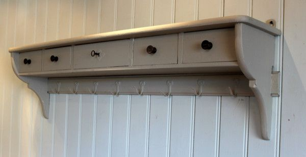 Drawer Shelves Wall Shelf With