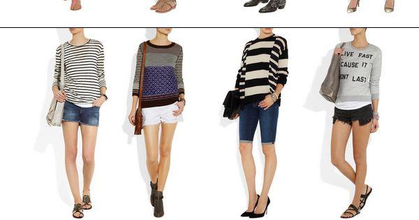 What To Wear With Denim Shorts | Ohh la la!