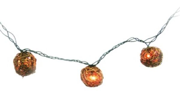 Balcony - Target Threshold String Lights - Vine Balls (10 ct) Mezmerizing Mezzanines ...