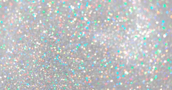 HOLOGRAPHIC/IRIDESCENT GLITTER White Silver Or Pastel