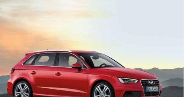 Der Neue Audi A3 Sportback Ist Ab Fr Hjahr 2013 Zu Haben