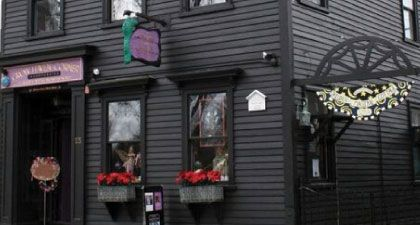 Find Your Mojo At Salem S Oldest Witch Shop With Books Spells Herbs Candles Incense And More Stop By Crow Witch Shop American Road Trip Haunted Happenings