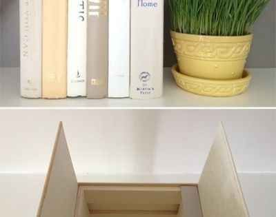 DIY home decorating ideas - Hiding Router / cable box... Great idea: