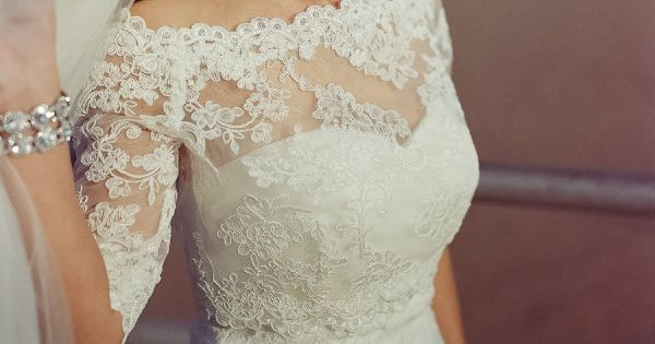 Real 2014 Off Shoulder Half Sleeve Lace White Bridal Bolero Jacket Wrap