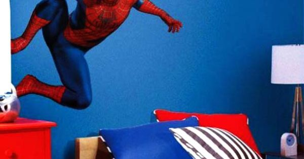 Spiderman Bedroom Paint Idea | Boys Bedrooms and Things | Pinterest | Paint ideas, Bedrooms and Room
