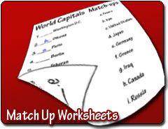 Match Up Worksheet Maker Worksheet Maker Worksheets Free Math Worksheets