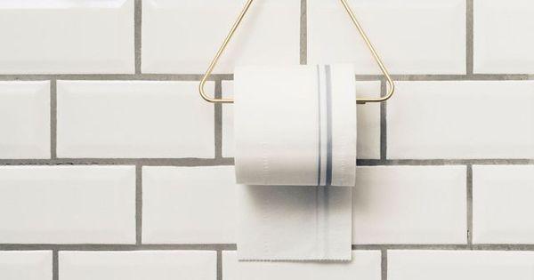 D co wc moderne et tendance porte rouleau panier deco et porte rouleau de - Panier papier toilette ...