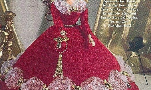 Barbie Crochet Ball Gown Patterns Free Free Crochet
