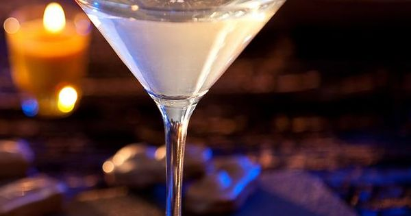 Almond Joy Martini Recipe -Miss trick-or-treating? This adults-only drink tastes like an