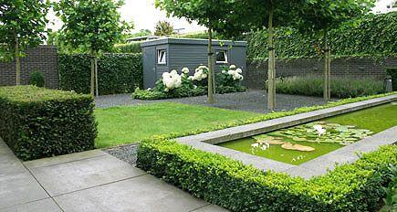 Tuinarchitect tuinontwerp moderne tuinarchitectuur kleine - Eigentijdse tuinarchitectuur ...