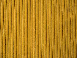 Yellow Gold 5 Wale Wide Corduroy Fabric Material Ebay
