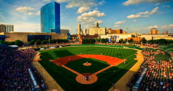 Victory Field Where The Indianapolis Indians Play Has Been Named The Best Minor League Ballpark In The Nation It S Bas Indiana Indianapolis Baseball Stadium