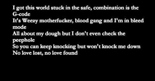 Eminem No Love Ft Lil Wayne With Lyrics Lyrics Eminem Lil Wayne