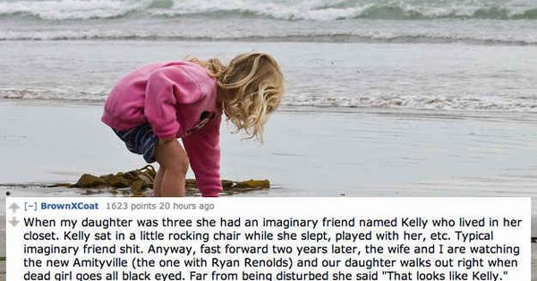 "The 14 Creepiest Things Kids Have Said About Their ""Imaginary Friends"""