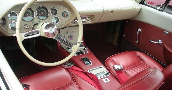 1962 1963 studebaker avanti interior cars i like pinterest cars car stuff and hot cars. Black Bedroom Furniture Sets. Home Design Ideas