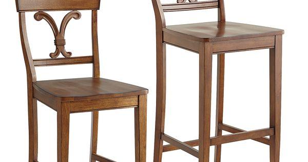 Vienna Bar Amp Counter Stools Nutmeg Hardwood Chairs