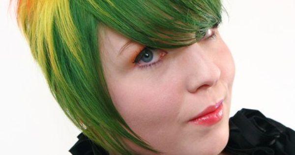 Womans Short Hair - Color Avant Garde - Hair By Amanda ...