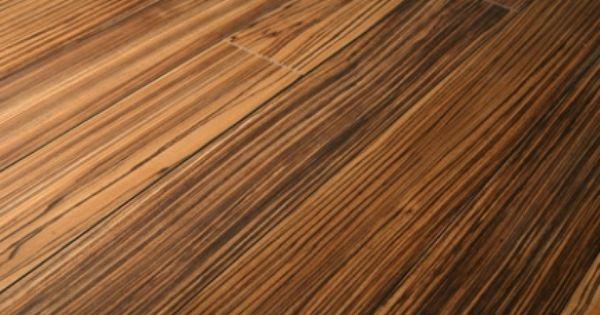 African Zebrano laminate flooring directflooring.co.uk | Dream home ...