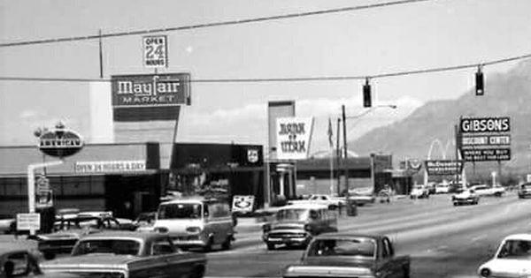 40th Street On Washington Boulevard In Ogden Utah Early 1950s With Images Ogden Utah Travel Around The World Ogden
