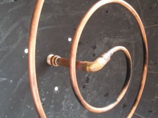 Copper Tubing Coil Modern Fire Pit Ring