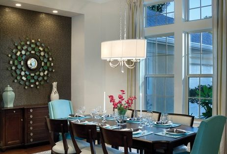 Dining Room Colour Scheme Love The Accent Wall And Same