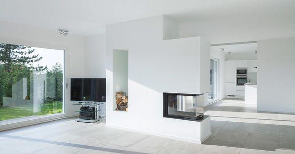Sch nes einfamilienhaus mit bestnote minimalistische for Minimalistische wohnungen