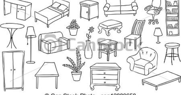 furniture clipart black and white. furniture store clipart i4plgogb8 | cool home wallpaper designs pinterest black and white