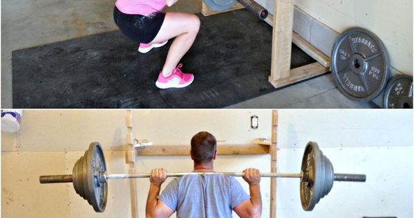 Simply sadie jane diy squatrack and pull up bar